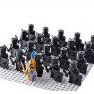 Black Shadow Warriors Queen Guards Trooper Compatible Lego Medieval Knights Castle