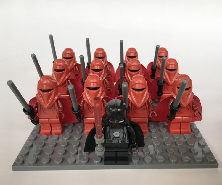 Star Wars Royal Guards Trooper Darth Vader Minifigure Compatible Lego