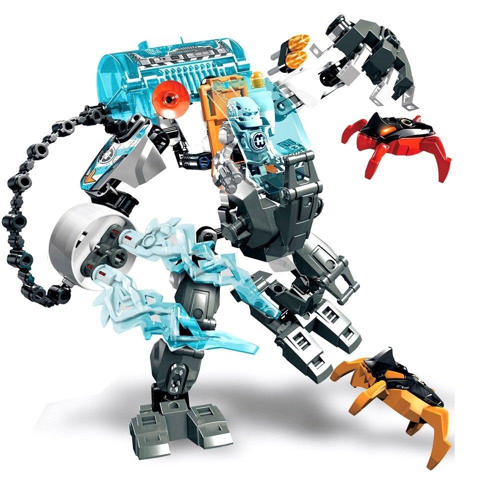 Stormer Freeze Machine Figure Hero Factory Compatible Lego
