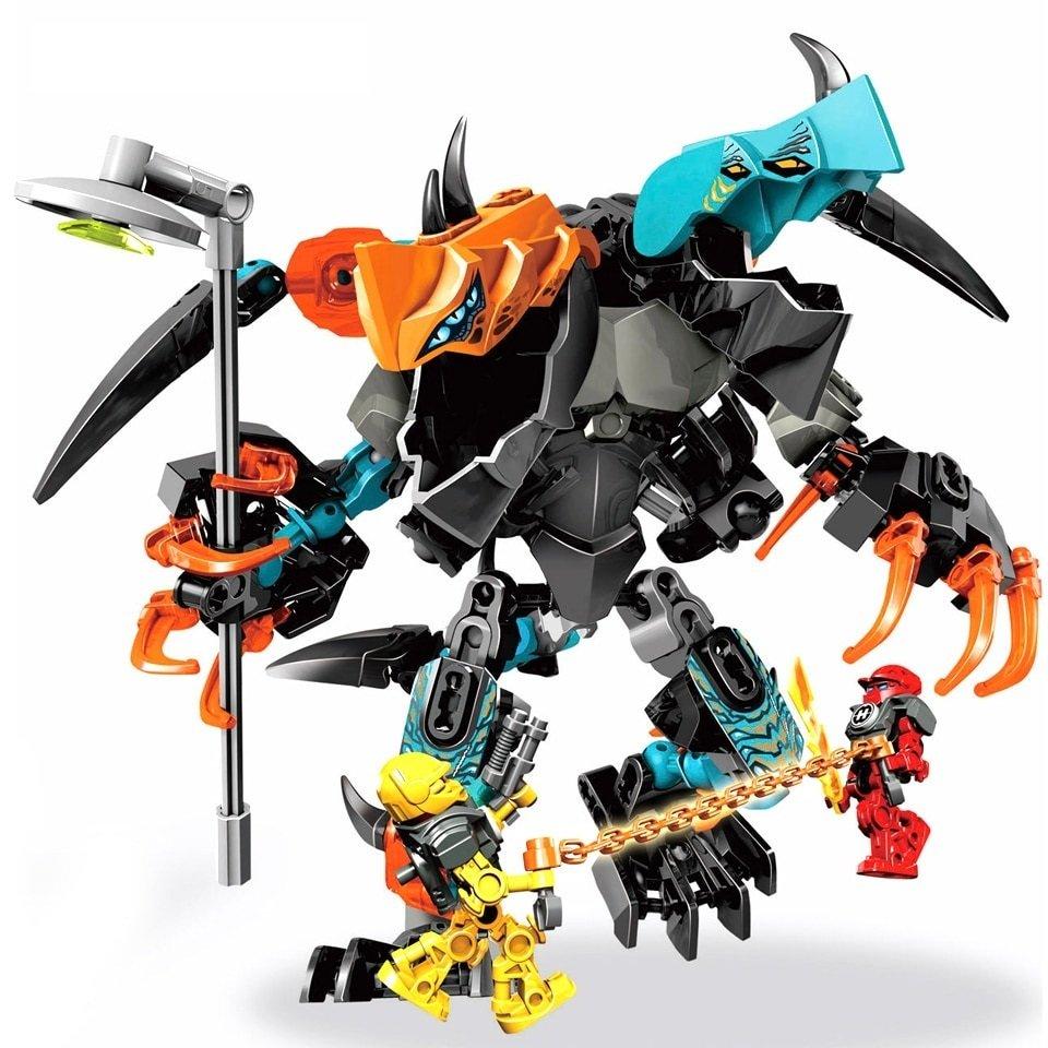 Hero Factory Splitter Beast Vs Furno Evo Set Compatible Lego