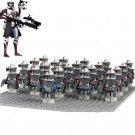 Star Wars Lieutenant Clone Trooper Minifigures Compatible Lego