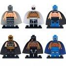 Wrestler El Santo Blue Demon Rayo Minifigures Compatible Lego