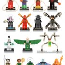 Spiderman Movie Minifigures Vulture Doctor Octopus Compatible Lego Super Heroes