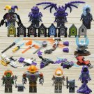 Custom Fox Harpies Aaron Minifigures Shields and Weapons Compatible Lego Nexo Knights