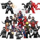 Venom Sets 2018 Marvel Spiderman Ironman Super Hero Minifigures Lego Fit