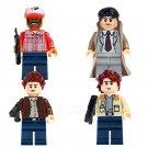 Supernatural Minifigures Sam Castiel Bobby Dean Winchester Lego Compatible