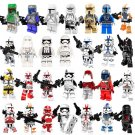 Best Star Wars Clone Trooper Captian Keeli Fett Coruscant Shadow Clone Minifigures Lego Fit