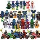 2019 Ninjago Minifigures Motocycle Hero Fit Lego Zane Kay Illoyd Jay Minifigure