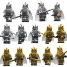 New Game of Thrones Cersei Lannister Minifigures Silver and Gold Fit Lego