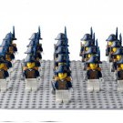 Custom Queen Victoria British Royal Navy Army Compatible Lego British Soldiers