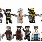 Marvel X Men Move Super Hero Wolverine Minifigures Compatible Lego