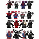 Marvel Venom Super Hero Spiderman Minifigures Lego Compatible