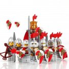 Custom Roman Lion Calvary Warriors Compatible Lego Medieval Knights