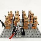 Star Wars Geonosis Clone Trooper Darth Malgus Minifigures Compatible Lego