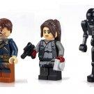 Star Wars Jyn Erso Cassian K-2SO Minifigures Compatible Lego