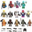 2019 Fortnite Red Knight Moisty Merman Bumout Minifigure Compatible Lego