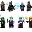 2019 Superhero Catwoman Harley Quinn Joker Mister Freeze Minifigures DC Lego Compatible