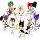 8pcs Alfred Robin Catwoman Batman Harley Quinn Minifigures Compatible Lego DC