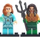 Custom Superhero Minifigures Mera Aquaman Compatible Lego DC