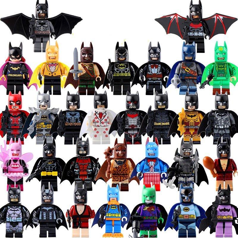 31pcs Batman Suits Minifigures Compatible Lego DC Superhero