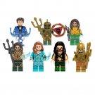 2019 New Aquaman Mera Minifigures DC Superhero Lego Compatible