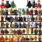 Medieval Knights Hobbit Egptian Minifigures Compatible Lego Lord of The rings