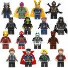 Best Marvel Avengers Superhero Loki Ironman Gamora Roket Minifigures Compatible Lego