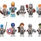 Marvel Avengers Endgame Ironman Antman Captain American Thor Hulk Minifigures Fit Lego Avengers Hero