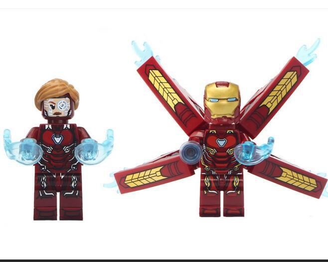 Custom Pepper Potts Ironman Minifigures Compatible Lego Marvel Universe Hero