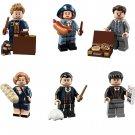 Newt Tina Jacob Queenie Percival Credence Minifigures Compatible Lego Fantastic Beats