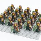 Lord of the Rings Hobbit Elf Minifigures Trooper Compatible Lego Minifigure Series 3