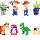 New Buzz Lightyear Horse Lotso Huggin Bear Dino Compatible Lego Toy Story Minifigures