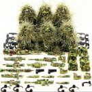 Game Soldiers Playerunknown's Battlegrounds SWAT Fit Lego American Infantry Squad