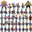 2019 Marvel Avengers Endgame Minifigures Lego Thanos Ironman Hulk Captain of America Antman Thor