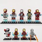 2019 Marvel Avengers Endgame Ironman Minifigures Lego Compatible
