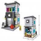 Custom Smartphone Building Toy Lego City Street Stores Compatible Toys