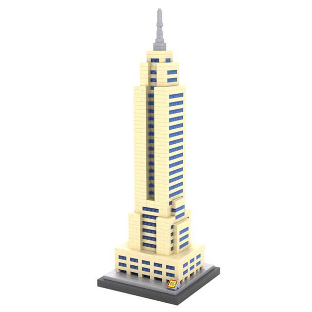 New York City Architecture The Empire State Building Compatible Lego