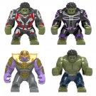 New Marvel Thanos Hulk Big Figure Compatible Lego