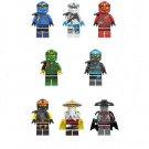 New Jay Kai Zane Nya Ice Emperor Master Wu Minifigures Compatible Lego Ninjago