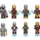 Iron Man Suits minifigures Avangers Infinity War Compatible Lego Marvel Minifigures
