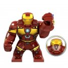 New Marvel Avengers Endgame Ironman Big Figuer in Gautlet Compatible Lego