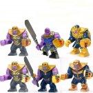 Customs Marvel Thanos Big Figure Compatible Lego Marvel Minifigures