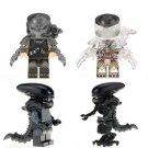 New Predator vs Alien Minifigures Compatible Lego
