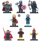 New Hawkeye Thor Star Lord Pepper Ironman Minifigures Lego Superhero Compatible