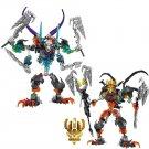 Skeleton Mask King And Skull Warrior Figure Lego Bionicle Set Compatible