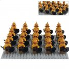 Spartacus Crixus Gannicus Roman Soldiers Compatible Lego Gladiator Army