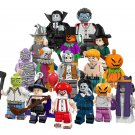 Hollywood Horror Movie Jack With Pumpkin Clow Zombie Minifigures Compatible Lego