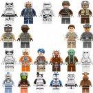 21pcs Star Wars Minifigures Compatible Lego