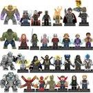 Best Marvel Avengers Supehero Minifigures Lego Ironman Thanos Spiderman Antman Compatible