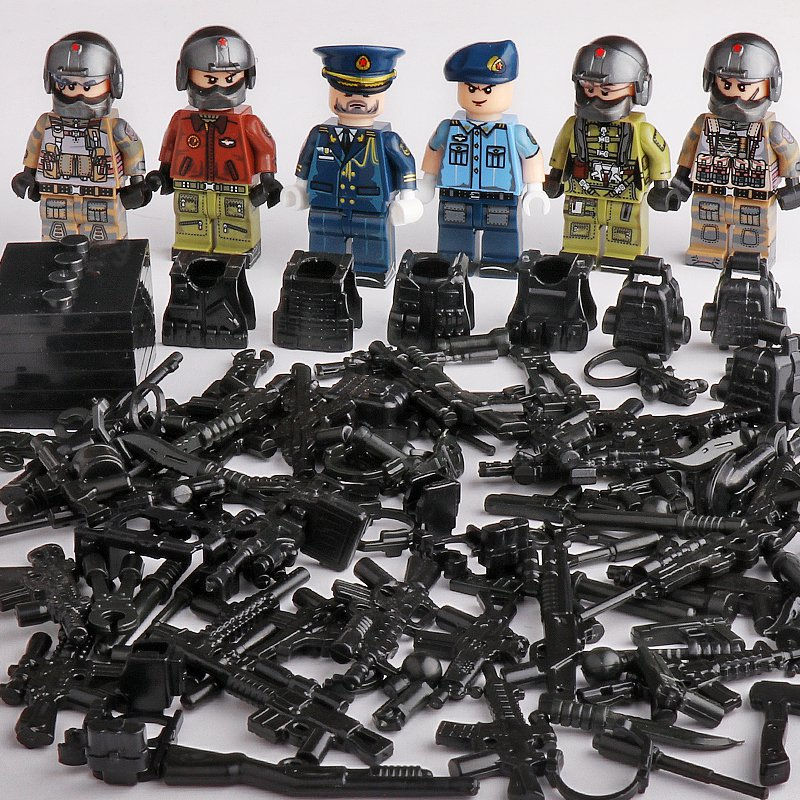 Custom Military Air Force Trooper Compatible Lego Air Force